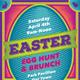Easter Egg Hunt and Brunch Poster, Flyer or Ad - GraphicRiver Item for Sale