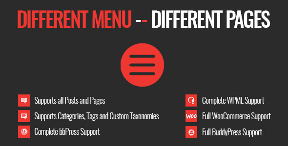 Codecanyon | Different Menu in Different Pages Free Download #1 free download Codecanyon | Different Menu in Different Pages Free Download #1 nulled Codecanyon | Different Menu in Different Pages Free Download #1