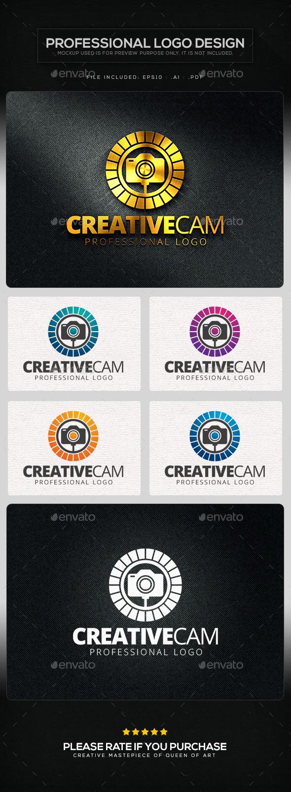 Creative Cam V.2 Logo Template