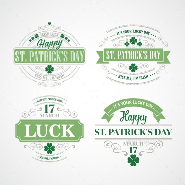 Typography St. Patricks Day