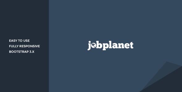 Jobplanet - Responsive Job Board HTML Template