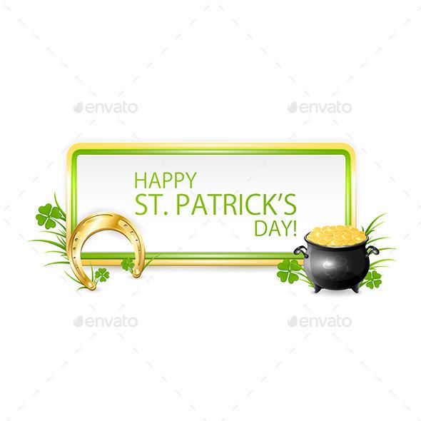 Patricks Day Banner
