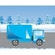 Car on Road in Winter - GraphicRiver Item for Sale