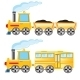 Two Locomotives - GraphicRiver Item for Sale