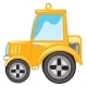 Yellow Tractor - GraphicRiver Item for Sale