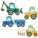 Tractors  - GraphicRiver Item for Sale