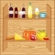 Shelf with Product - GraphicRiver Item for Sale