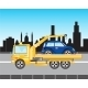 Car Evacuations in City - GraphicRiver Item for Sale