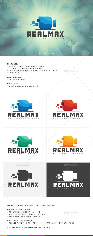 Realmax Logo Template