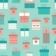 Gift Boxes Pattern  - GraphicRiver Item for Sale
