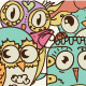 Owls Vector Set  - GraphicRiver Item for Sale