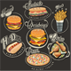 Retro Food Labels  - GraphicRiver Item for Sale