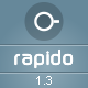 Rapido – Responsive Admin Dashboard Theme - ThemeForest Item for Sale