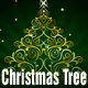4 Christmas tree vectors - GraphicRiver Item for Sale