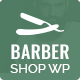 Barber - WordPress Theme for Barbers & Hair Salons - ThemeForest Item for Sale