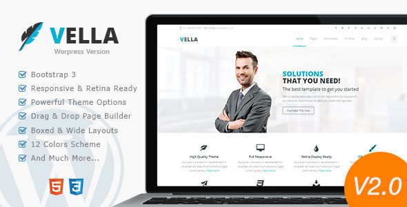 Review: Vella - Modern Business Theme free download Review: Vella - Modern Business Theme nulled Review: Vella - Modern Business Theme