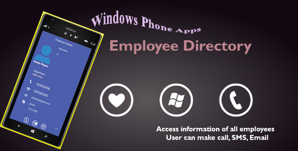 Employee directory for Windows Phone Download