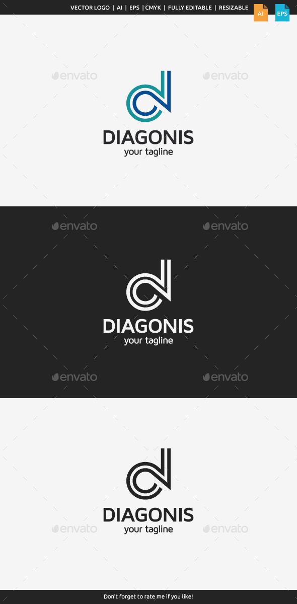Diagonis - Letter D