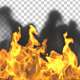 Fire with Smoke - VideoHive Item for Sale