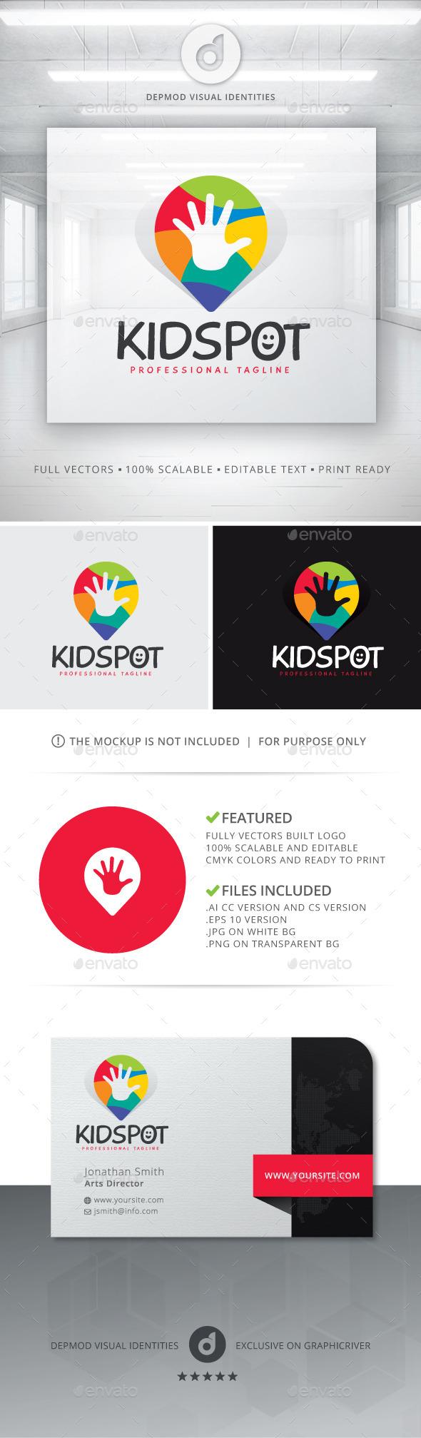 Kid Spot Logo