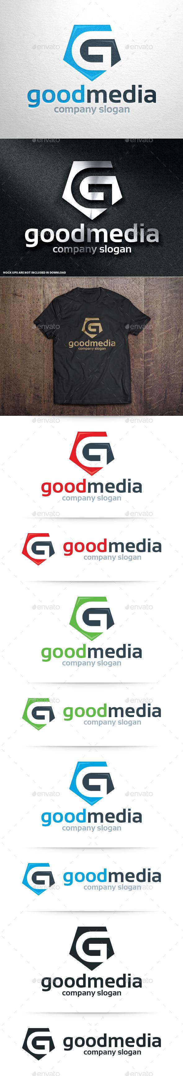 Good Media - Letter G Logo