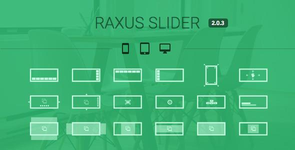 Raxus Slider / Easy-to-Use Advanced HTML5 Slider
