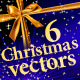 6 High Quality Christmas vectors - GraphicRiver Item for Sale