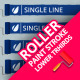 Paint Roller Stroke Lower Thirds - VideoHive Item for Sale