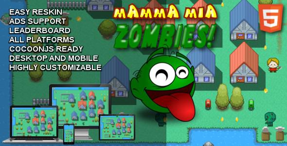 Mamma Mia Zombies!
