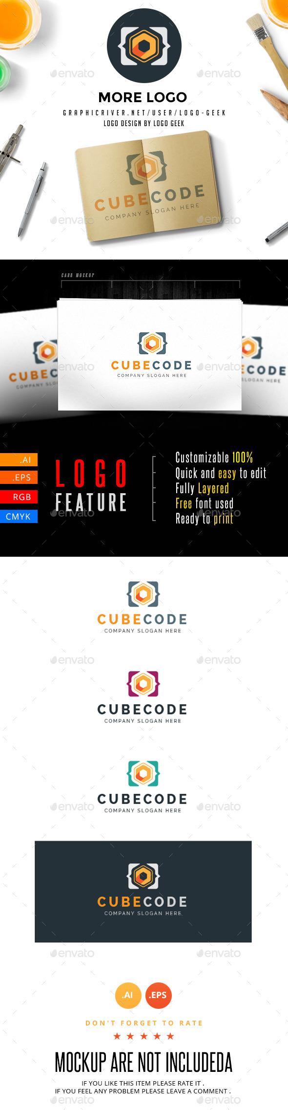 Cube Code Logo
