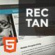 Rectan - Creative Corporate Template - ThemeForest Item for Sale