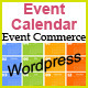 EventCommerce WP Responsive Event Calendar Pro - CodeCanyon Item for Sale