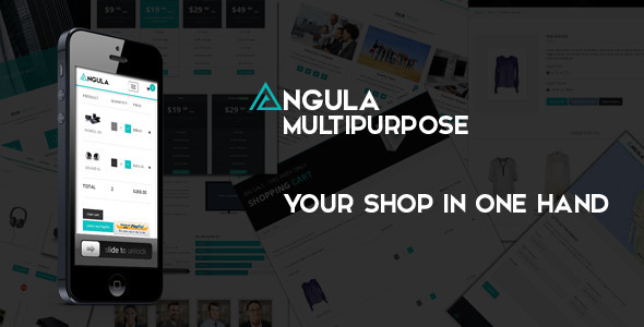 ANGULA - Multipurpose Template