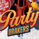 Party Brakers Poster - GraphicRiver Item for Sale