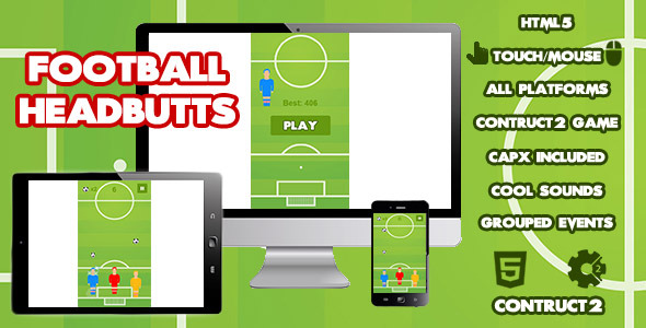 Football Headbutts Sports Game Download