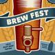 Beer Festival Event Poster or Flyer - GraphicRiver Item for Sale