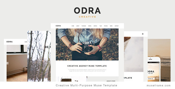 ODRA - Creative Multi-Purpose Muse Template