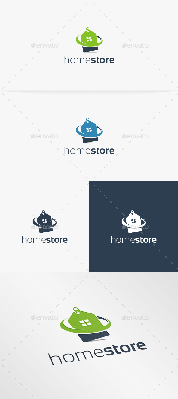 Home Store - Logo Template