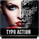 Typo Portrait Pro Photoshop Action - GraphicRiver Item for Sale