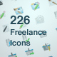 Function Freelance & Work Icons: 226 Icons - GraphicRiver Item for Sale