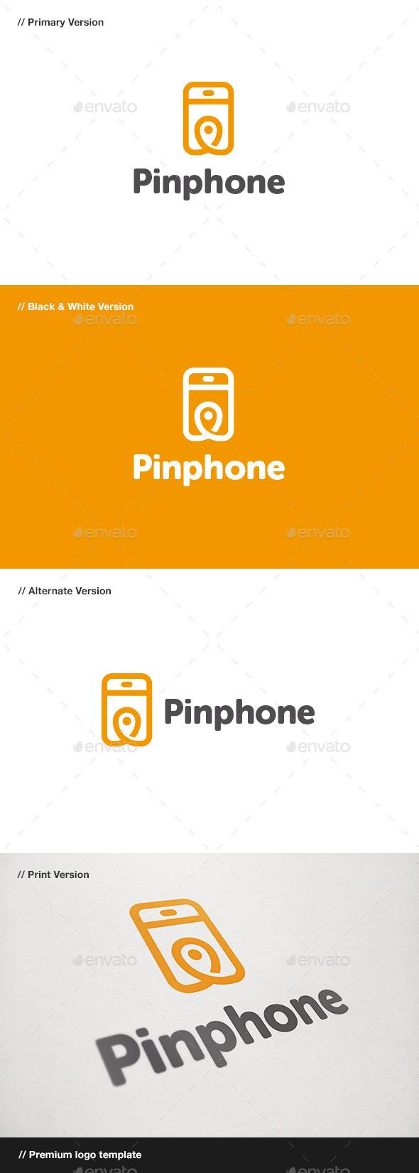 Pin Phone Logo