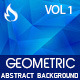 Geometric Abstract Background - Vol 1 - GraphicRiver Item for Sale
