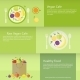 Banners with Fruit  - GraphicRiver Item for Sale