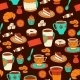 Seamless Coffee and Tea Pattern - GraphicRiver Item for Sale