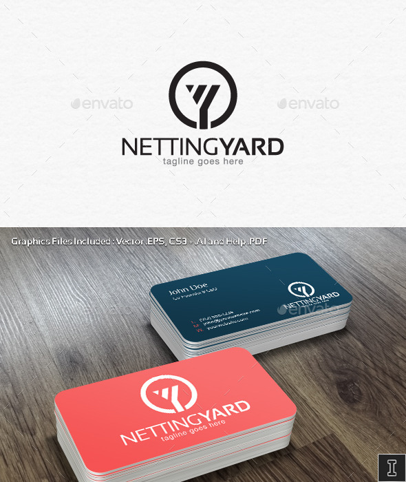 Netting Yard Logo Template