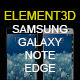 Element3D - Samsung Galaxy Note Edge - 3DOcean Item for Sale