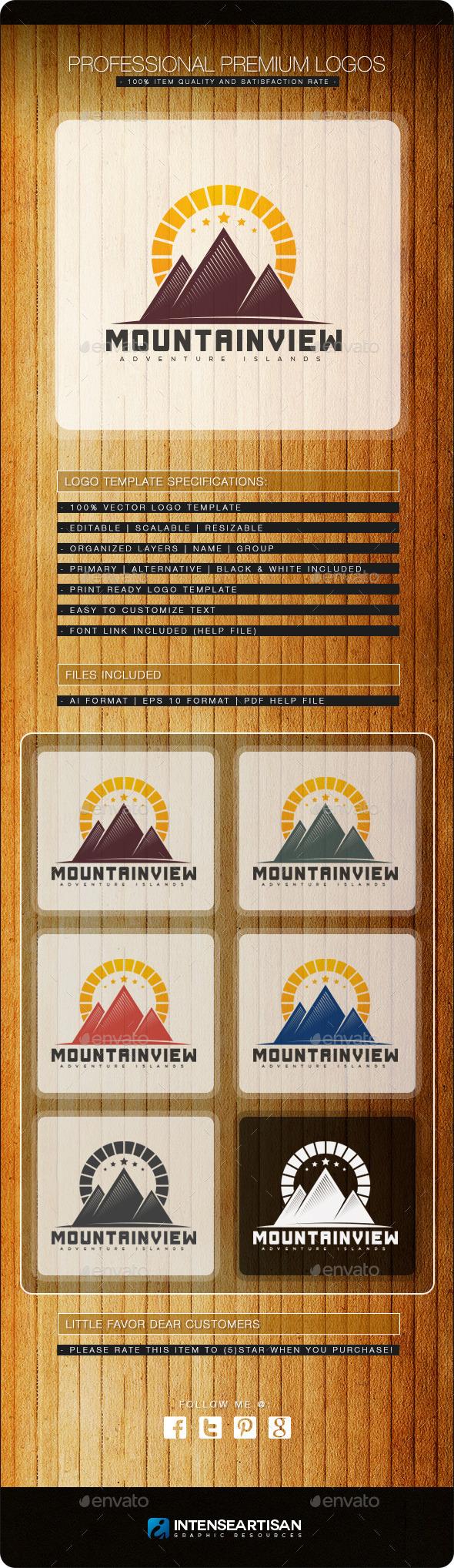 Mountain V.3 Logo Template