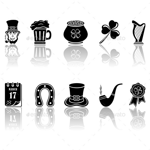 Patricks Day Icons