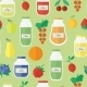 Seamless Pattern with Jars of Jam - GraphicRiver Item for Sale