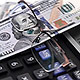 New Dollar With Calculator and Glasses (Rotation) - VideoHive Item for Sale